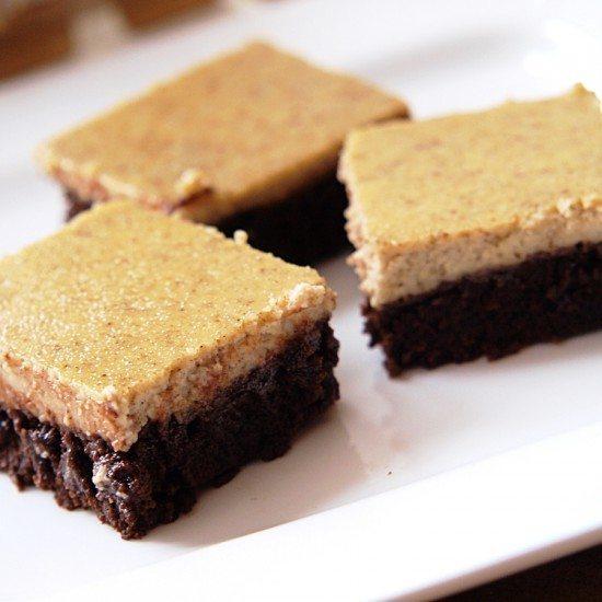 Rezept Brownies mit Vanille-Frischkäse-Creme