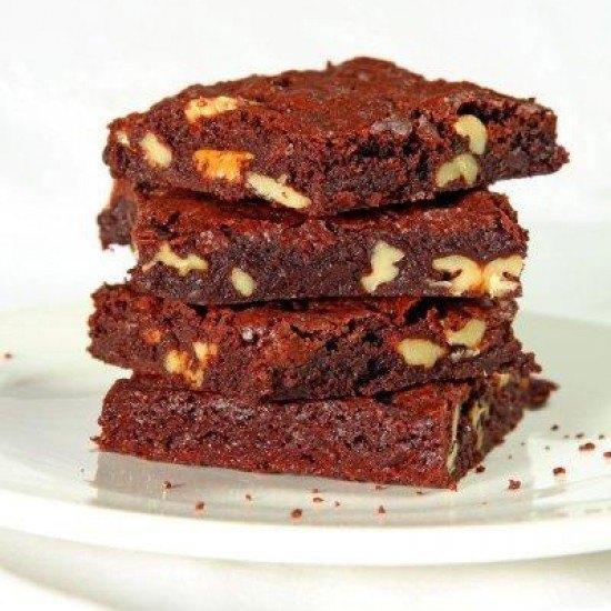 Rezept Brownies mit Walnuessen