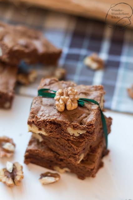 Rezept Brownies mit Walnüssen