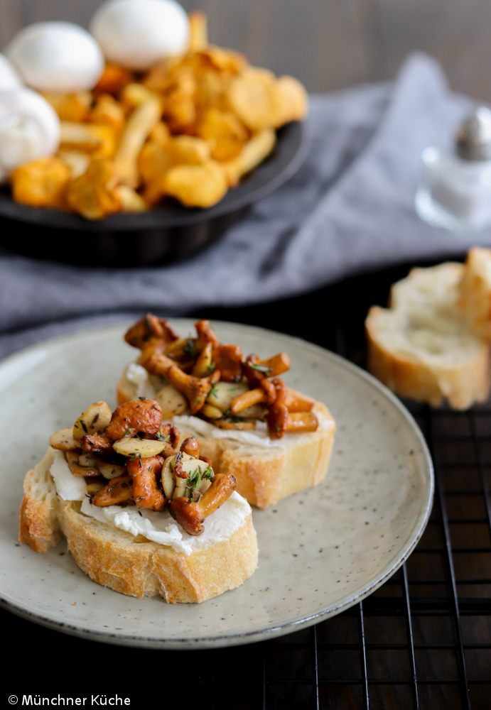 Rezept Bruschetta mit Pilzen