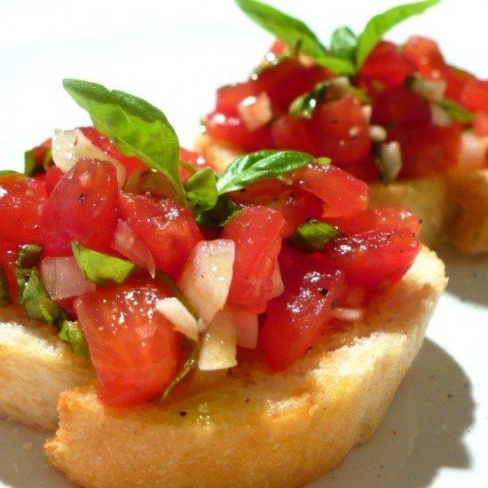 Rezept Bruschetta pomodori