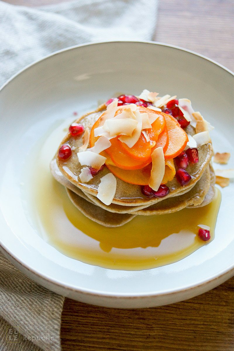 Rezept Buchweizen Tahin Pancakes