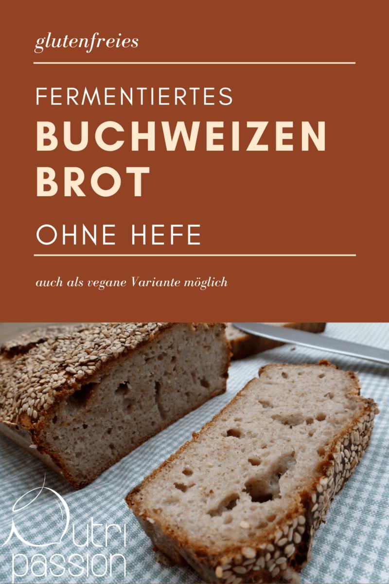 Rezept Buchweizenbrot - fermentiert und ohne Hefe