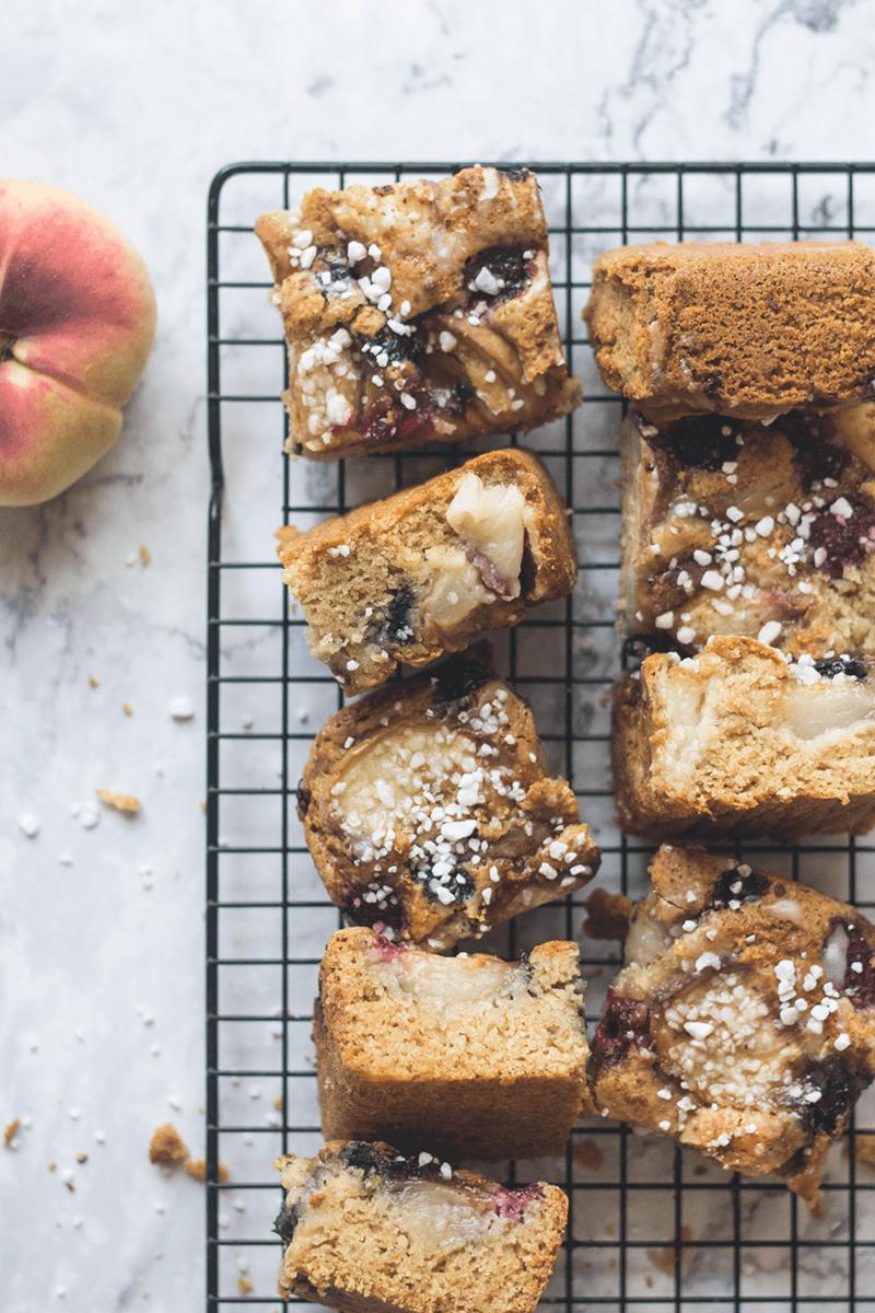 Rezept Buckle Cake mit Sommerfrüchten (vegan)