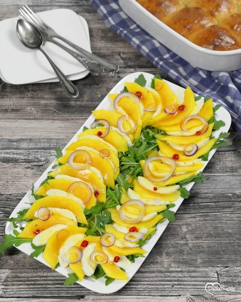 Rezept Büffelmozzarella-Mango-Salat