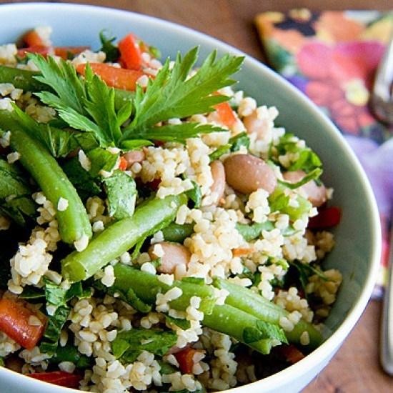 Rezept Bulgur-Bohnen-Salat