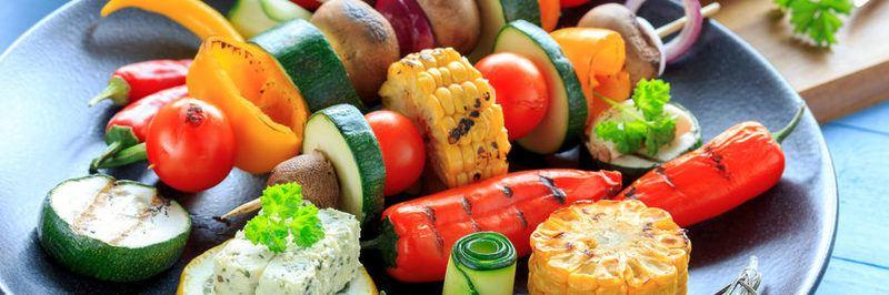 Rezept Bunter Gemüsespieß