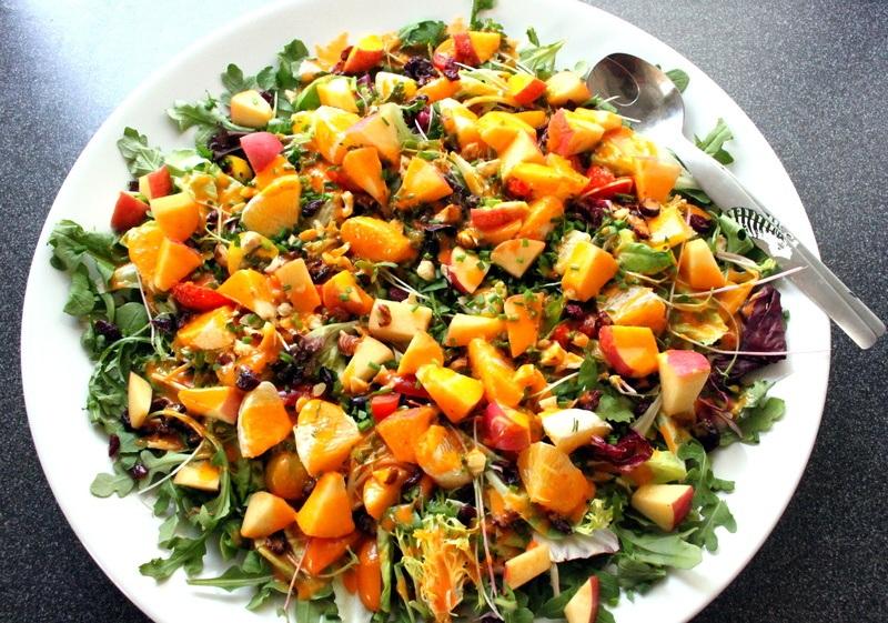 Rezept Bunter Winter Salat