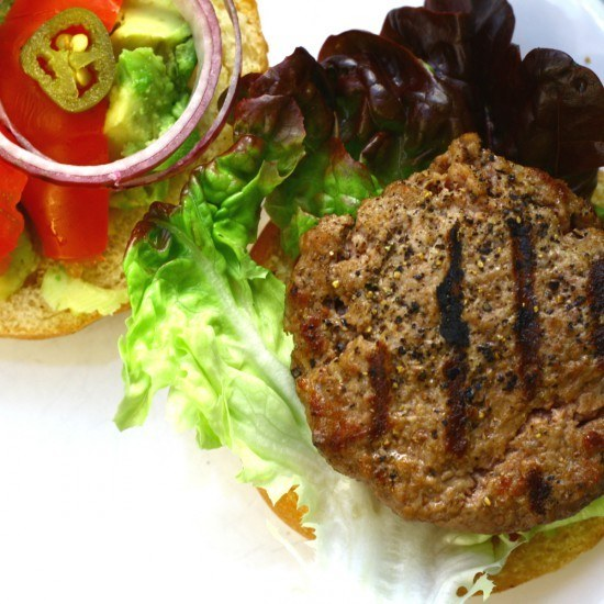 Rezept Burger mit Chopped Salad