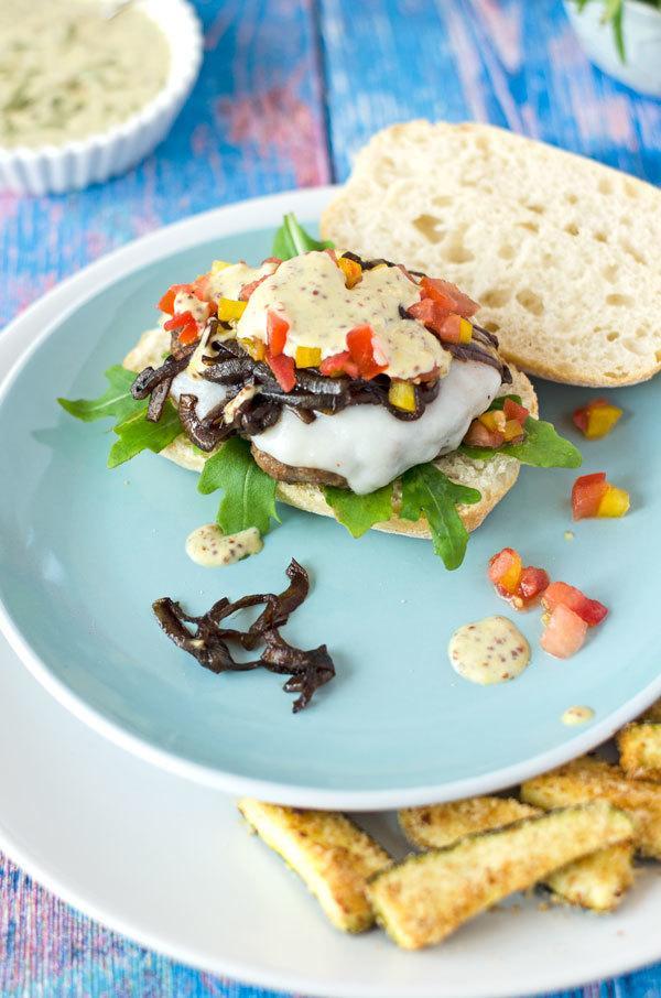 Rezept Burger mit Lammpatty und Zucchini-Sticks