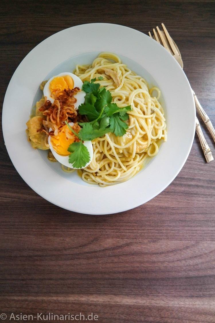 Rezept Burmesische  Curry-Nudeln