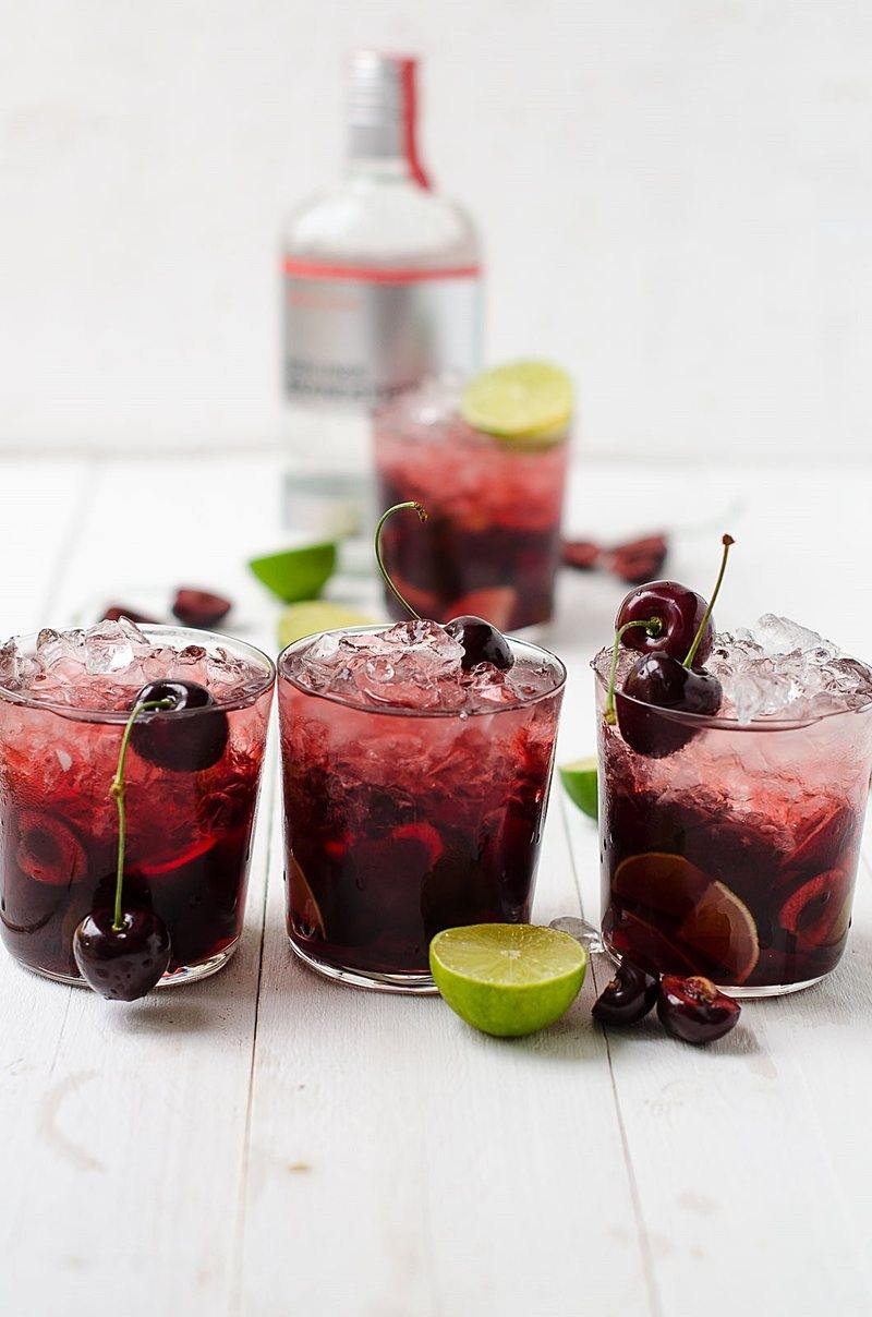 Rezept Burning Cherry
