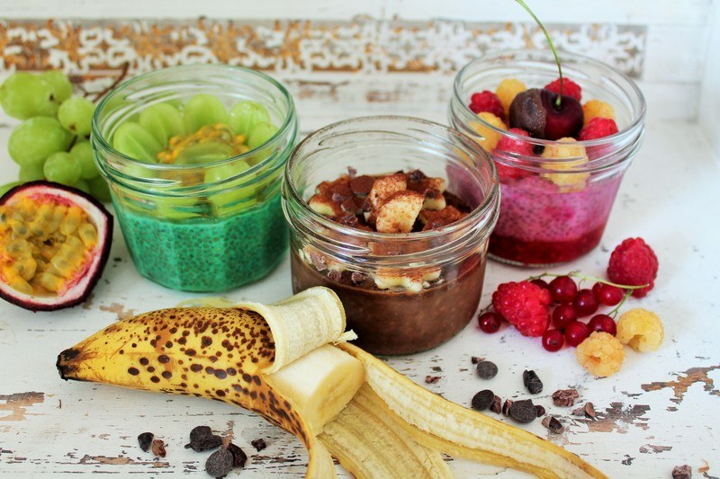 Rezept  Busy Girls Breakfast - Chia Pudding