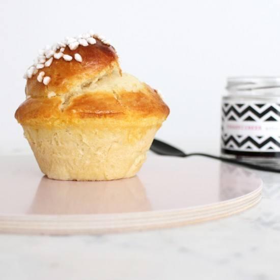 Rezept Butter Brioches in Muffinformen gebacken