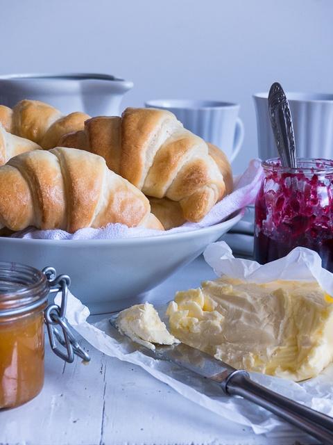 Rezept Butter-Joghurt Hörchnchen