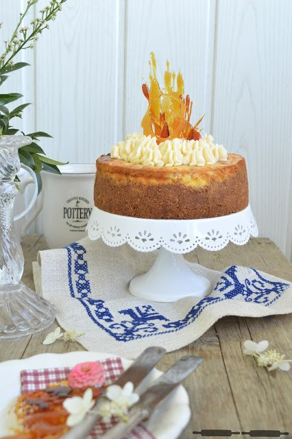 Rezept Butterkeks Cheesecake mit Crack-Karamell