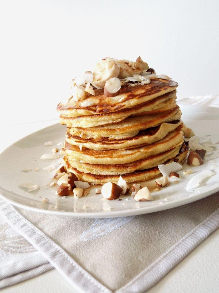 Rezept Buttermilch Pancakes mit Ahornsirup