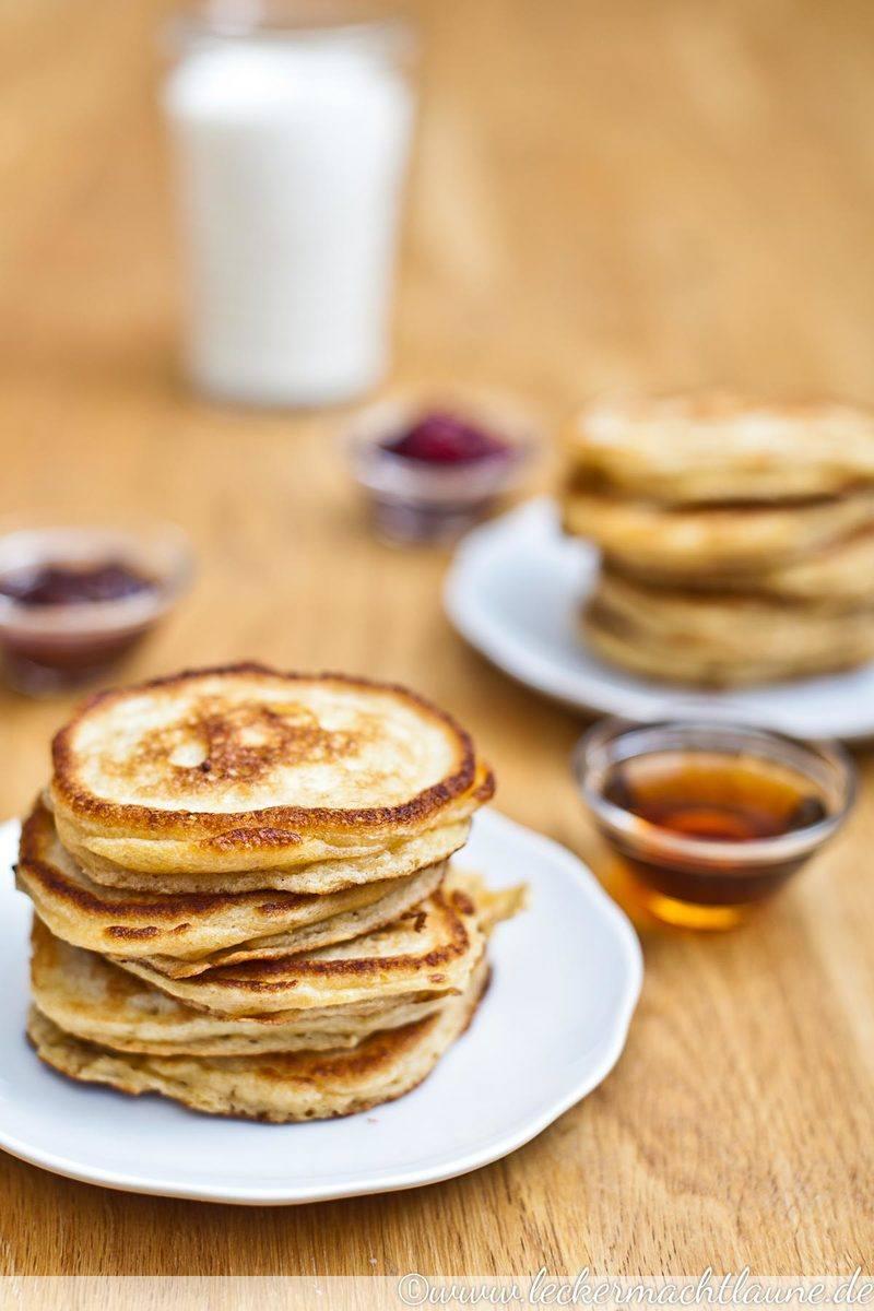 Rezept Buttermilch-Pancakes