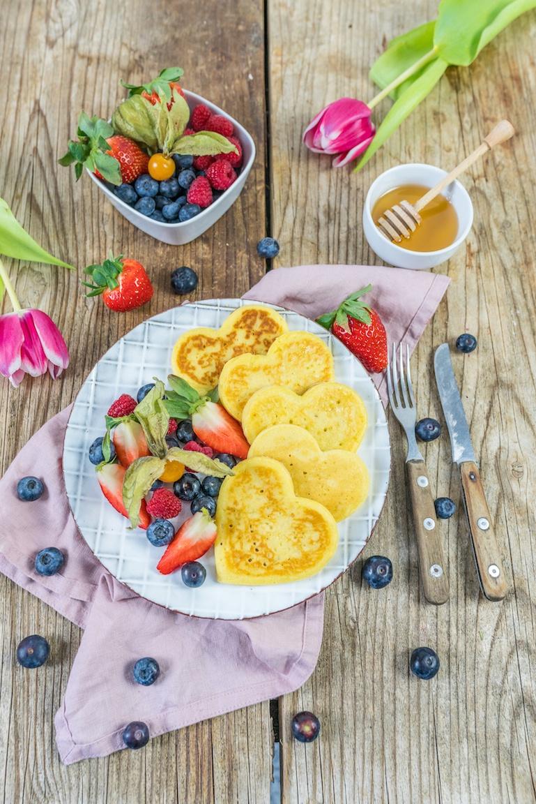 Rezept Buttermilch Pancakes