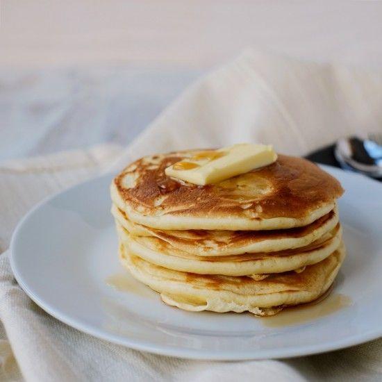 Rezept Buttermilchpancakes