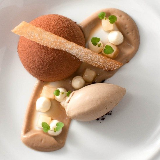 """Rezept \\\""""Café au lait\\\"""" Dessert"""