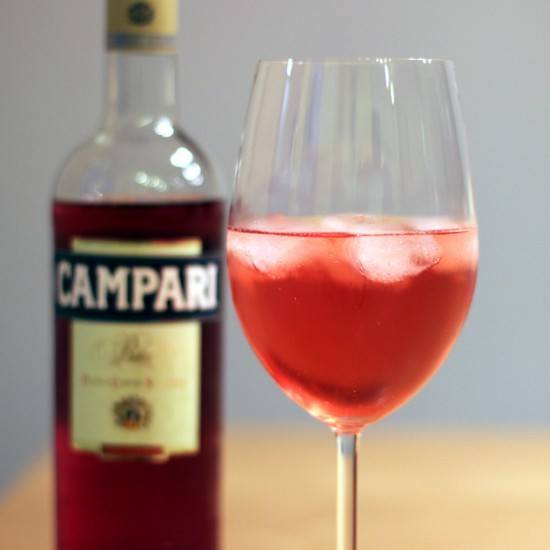Rezept Campari Tocco Rosso