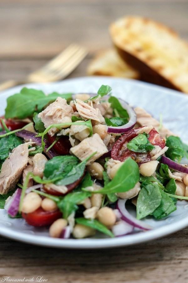 Rezept Cannellini-Thunfisch-Salat