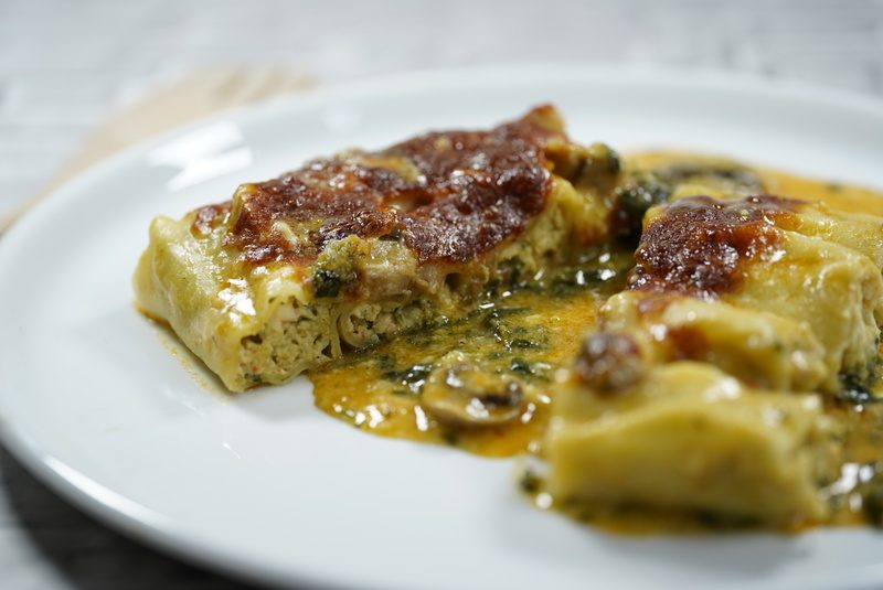 Rezept Cannelloni mit Garnelenfüllung
