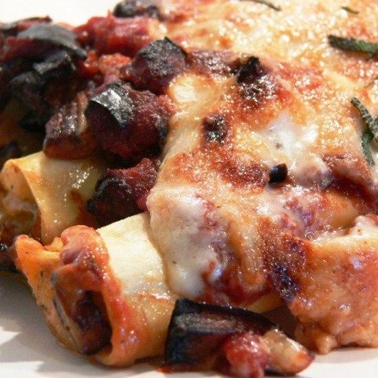 Rezept Cannelloni mit Kartoffelfüllung
