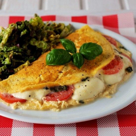 Rezept Caprese Omelette