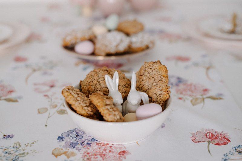 "Rezept ""Carrot Cake Cookies"" mit Zimtstreuseln"