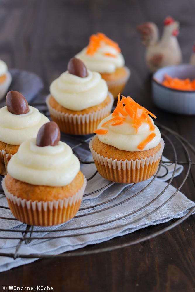 Rezept Carrot Cake Cupcakes
