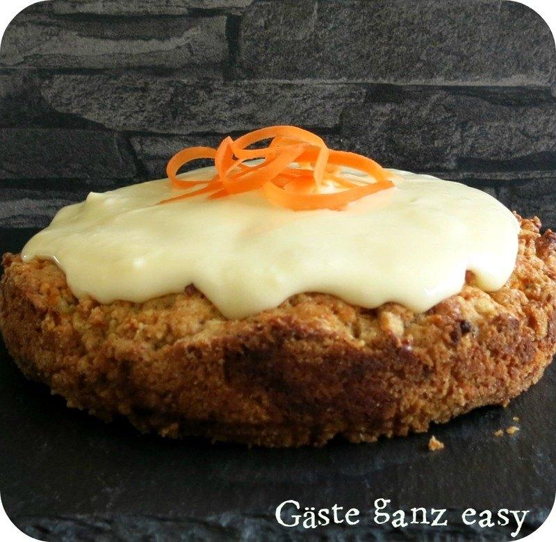 Rezept Carrot Cake mit Frischkäse-Frosting