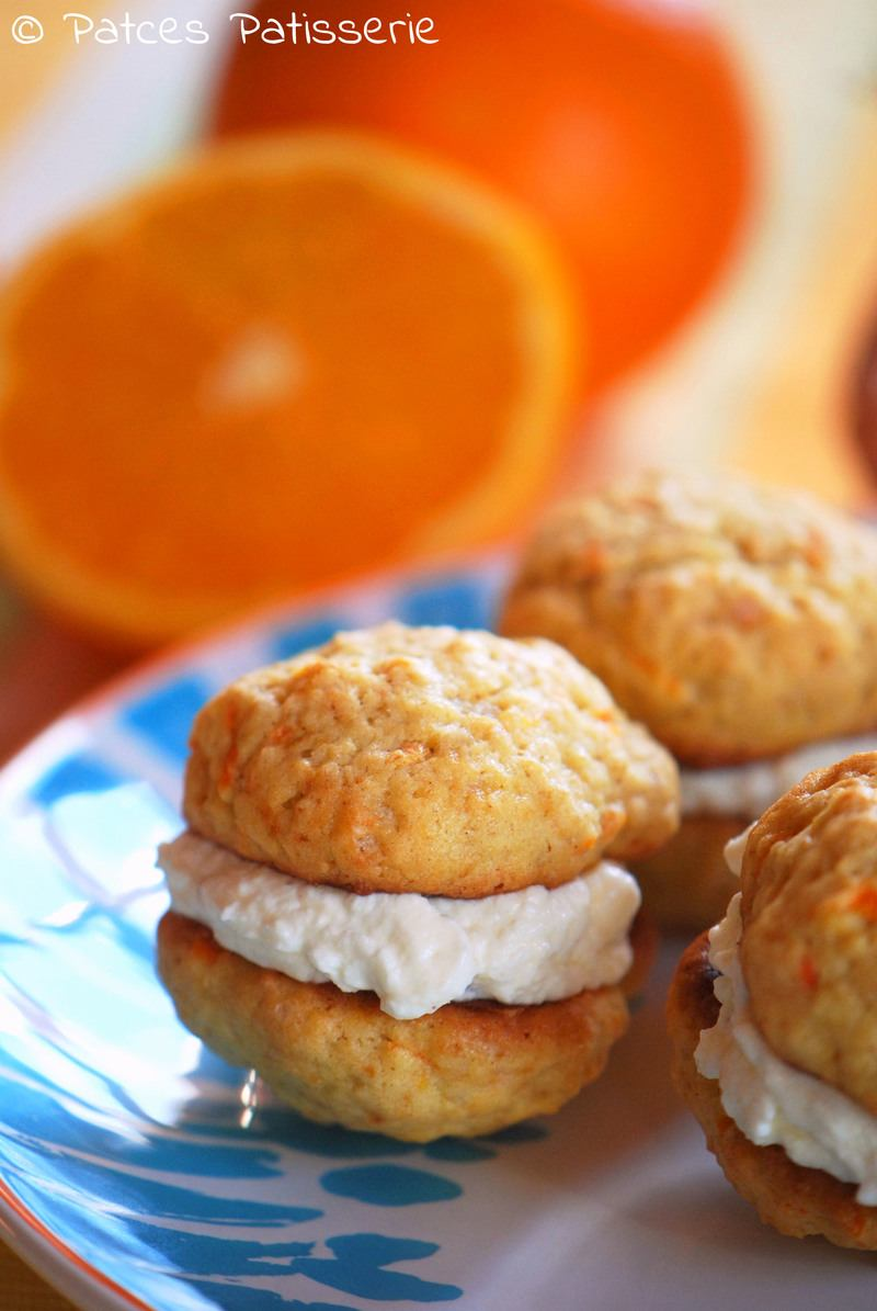 Rezept Carrot Cake Whoopie Pies