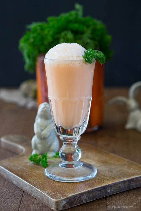 Rezept Carrot Milkshake