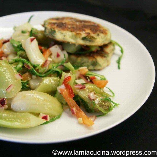 Rezept Catalogna cimata : Fritelle und Gemüse