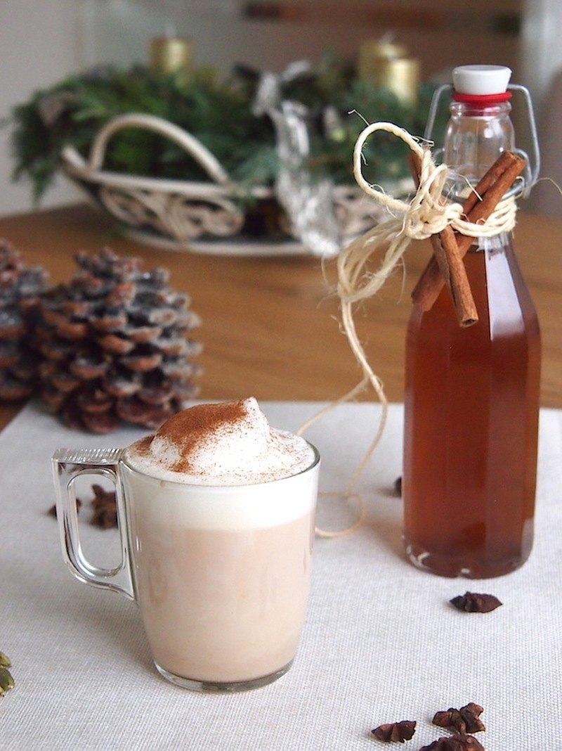 Rezept Chai Latte-Sirup