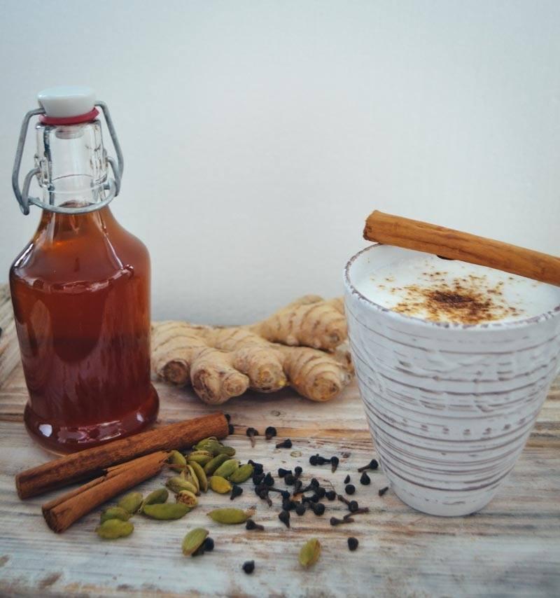 Rezept Chai-Latte-Sirup