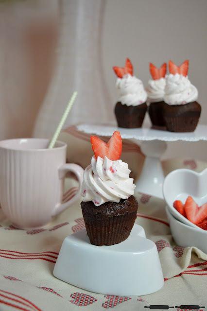 Rezept Champagner Cupcakes