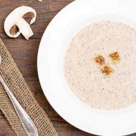 Rezept Champignon-Creme-Suppe
