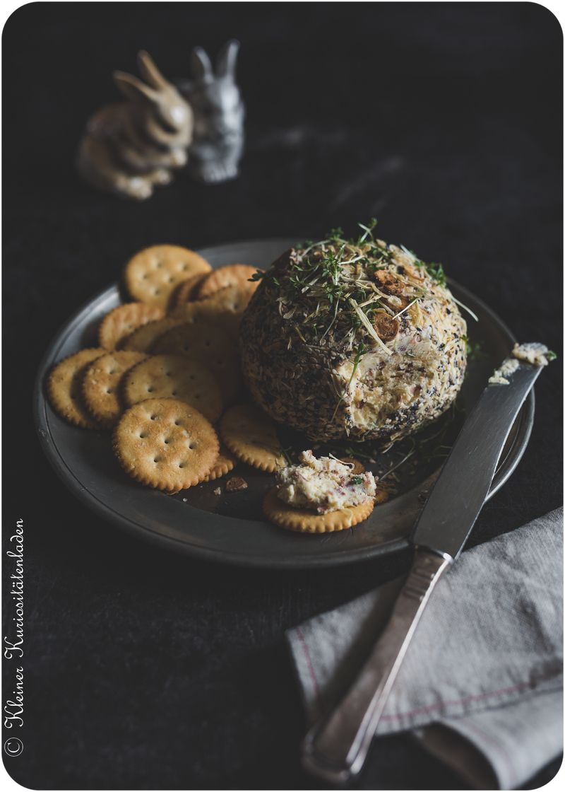 Rezept Cheddar Cheese Ball