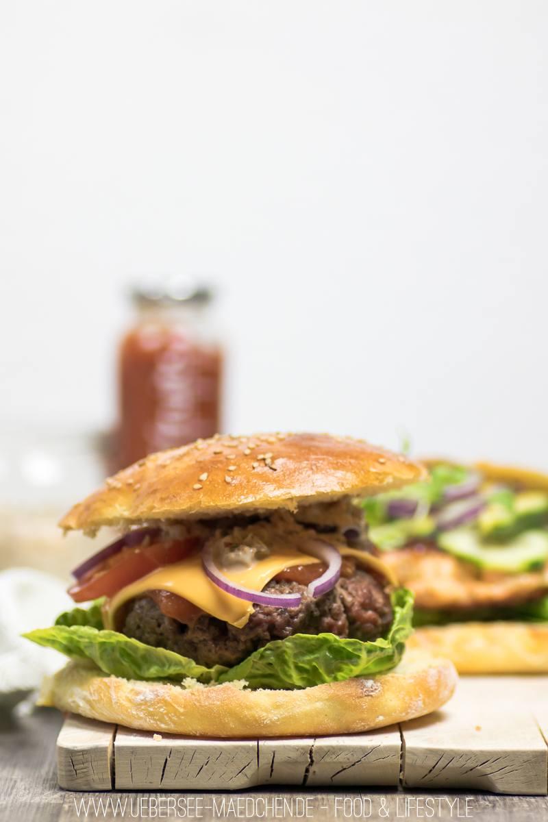 Rezept Cheeseburger mit leckerer Burgersauce