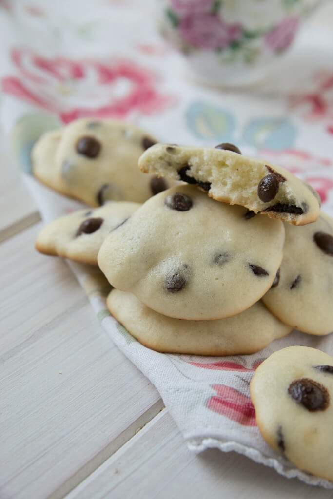 Rezept Cheesecake Cookies mit Chocolate Chips