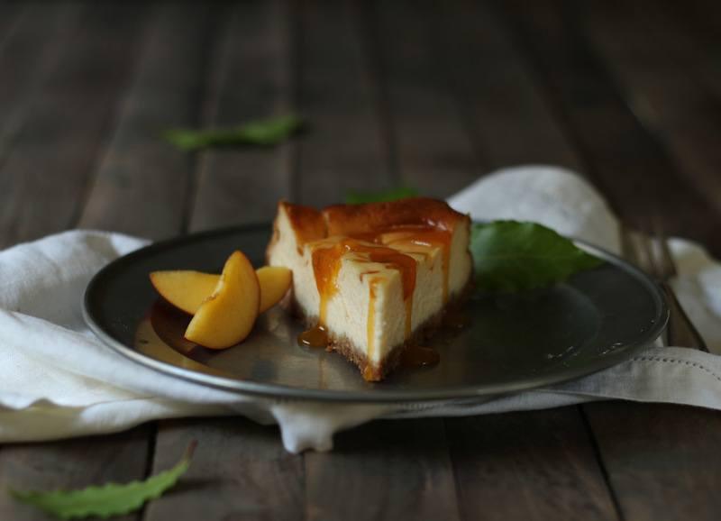 Rezept Cheesecake mit Aprikosensauce