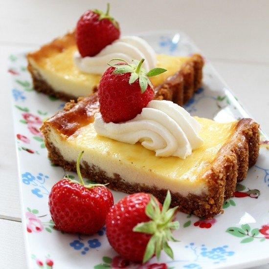 Rezept Cheesecake mit Knusperboden