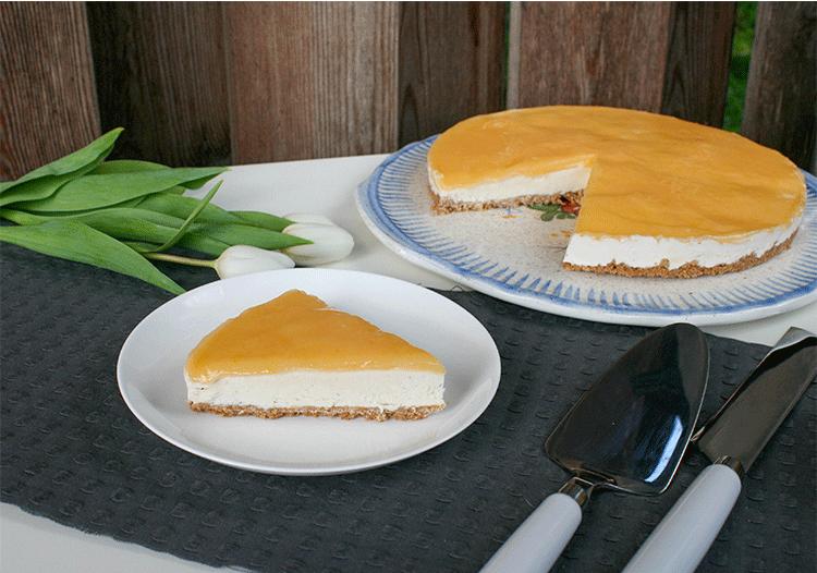 Rezept Cheesecake mit Lemon Curd (no bake)