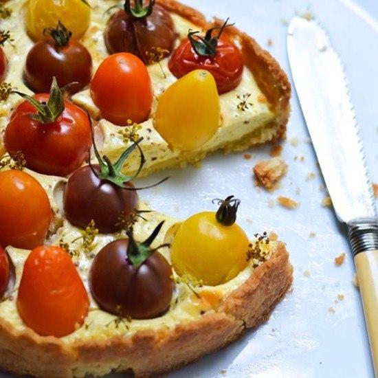 Rezept Cheesecake Tomaten Tarte