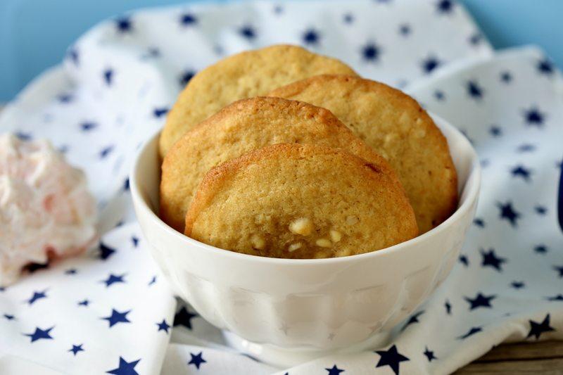 Rezept Chewy White Chocolate Macadamia Cookies