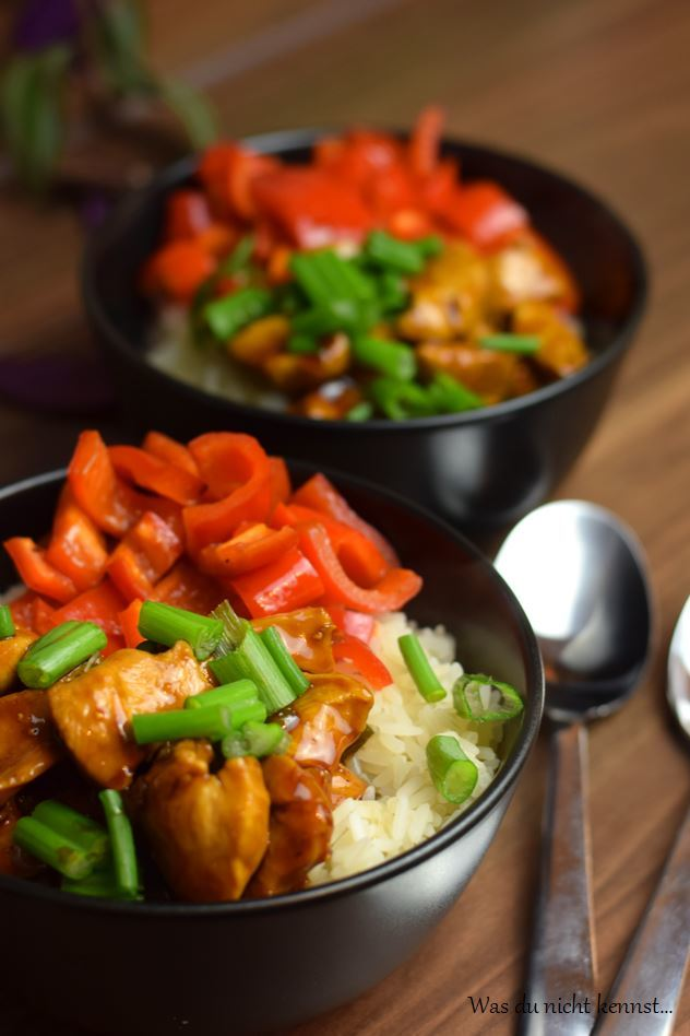 Rezept Chicken-Teriyaki