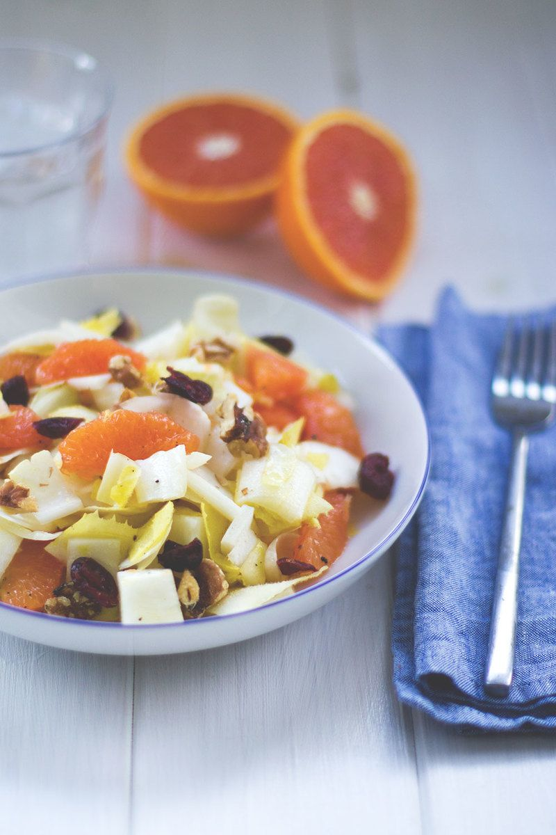 Rezept Chicorée-Orangen-Salat